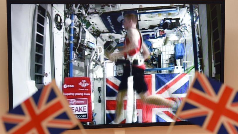 La maratona di Londra? Lui l'ha corsa nello spazio!