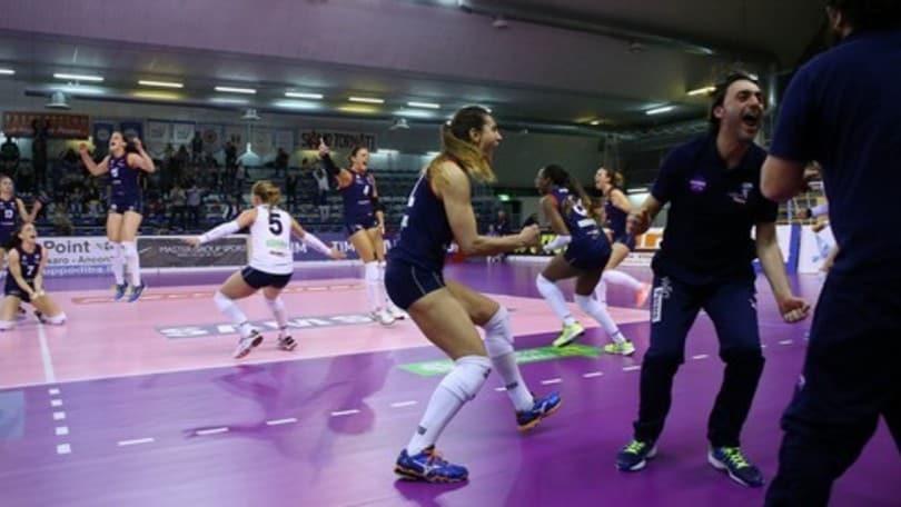Volley: A2 Femminile, Pesaro riapre i giochi