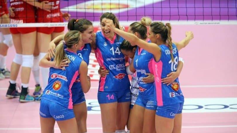 Volley: A1 Femminile, sarà Piacenza a sfidare Conegliano in finale