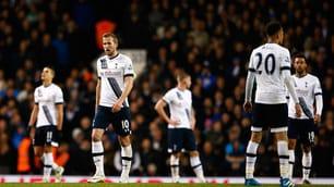 Il Tottenham pareggia e Ranieri vola a +7