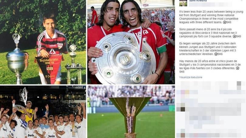 Serie A Juventus, Khedira: «Tre titoli nei tre campionati più grandi»