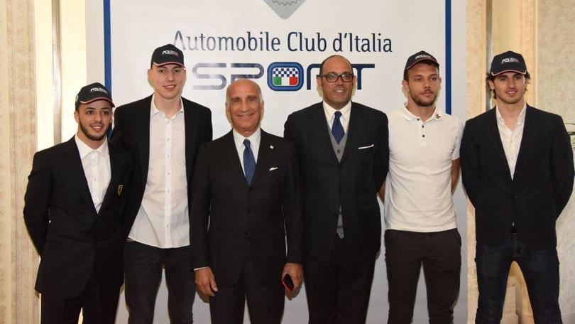 Aci Team Italia, la Nazionale da pista