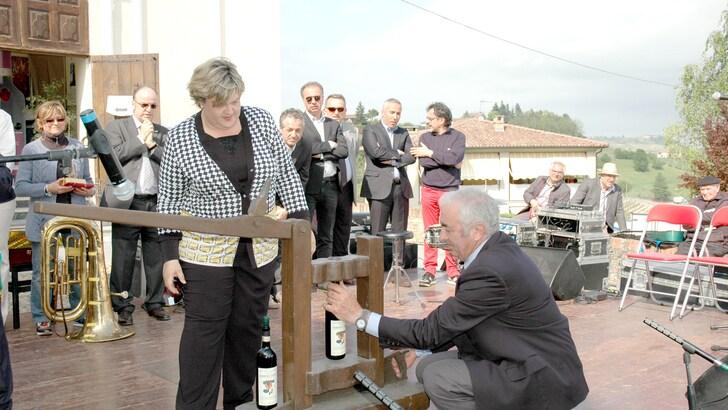Casagnole Lanze celebra il Barbera