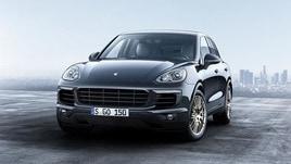 Porsche Cayenne Platinum Edition, lusso di serie