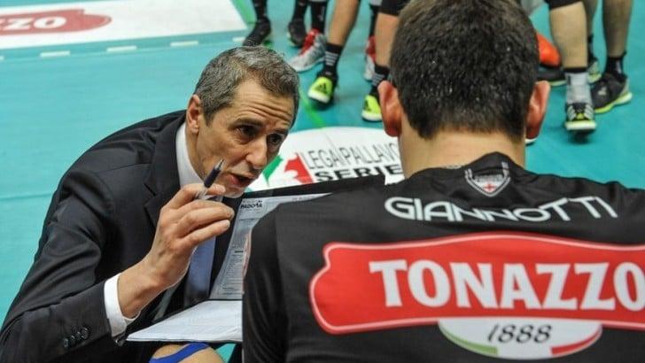 La Tonazzo Padova conferma coach Baldovin con un biennale