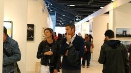 Costacurta e la Colombari a Mia Photo Fair