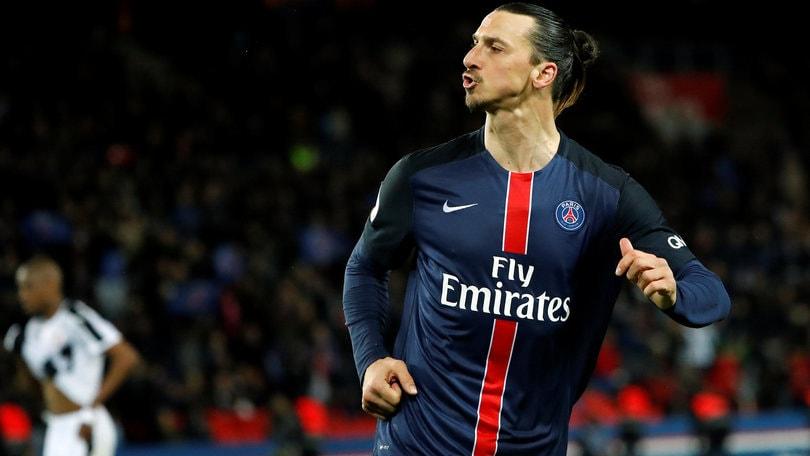 Ligue 1, Ibra scatenato: doppietta. Il Psg vince ancora