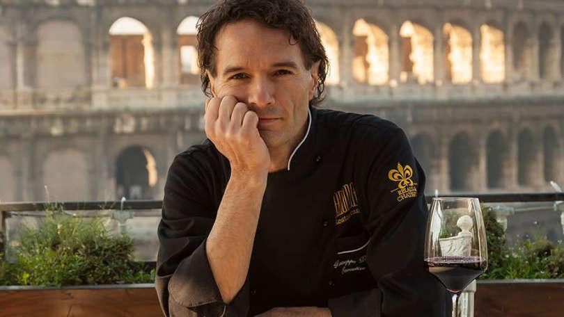 A Castel Romano arriva lo chef Giuseppe Di Iorio