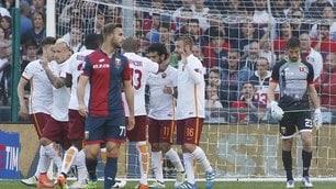 Genoa-Roma 2-3: Totti leggendario, El Shaarawy micidiale