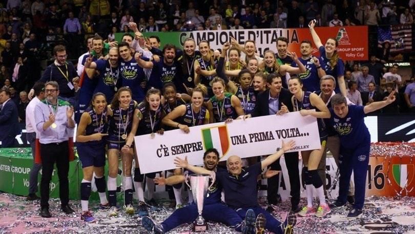 Volley: A1 Femminile, Conegliano è Campione d'Italia