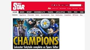 Leicester campione: il mondo si inchina alle Foxes