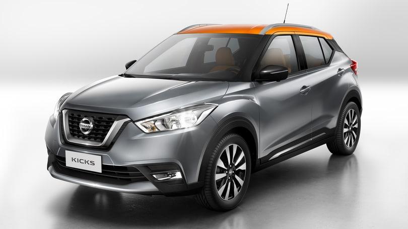 Nissan Kicks, il nuovo SUV tra Juke e Qashqai, ma non per l'Italia