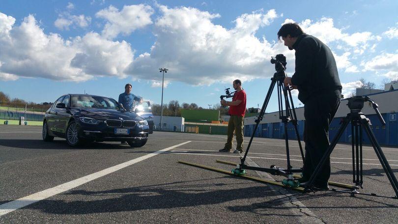 Jimmy and Cars, Ghione scende in pista con il Corsport