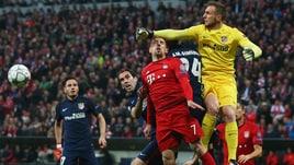 Bayern Monaco-Atletico Madrid 2-1: Simeone in finale di Champions