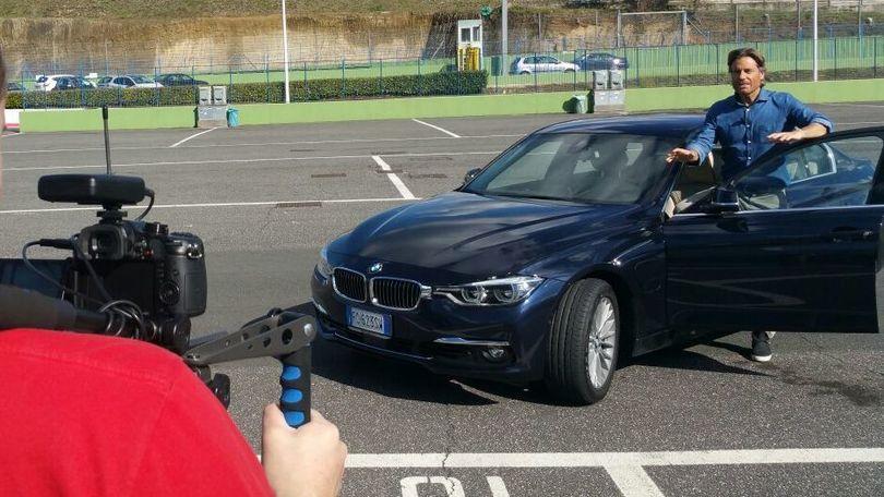 Jimmy Ghione prova per Corsport la nuova BMW 330e