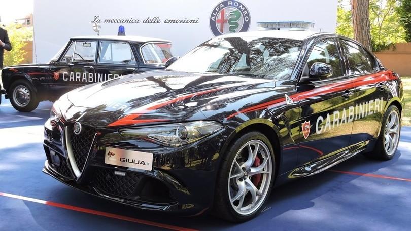 Alfa Giulia Quadrifoglio arruolata nei Carabinieri
