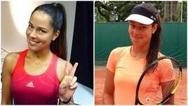 Tennis, la prima stella già incanta Roma: la Ivanovic si allena al centrale