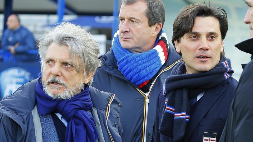 Calciomercato Sampdoria, incontro a Roma tra Ferrero e Montella