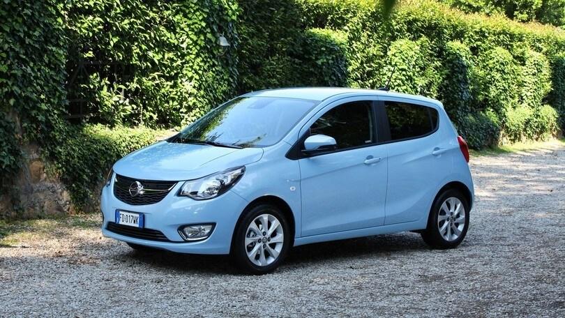 Opel Karl GPL Tech: foto