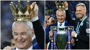 Leicester, King Claudio Ranieri incoronato