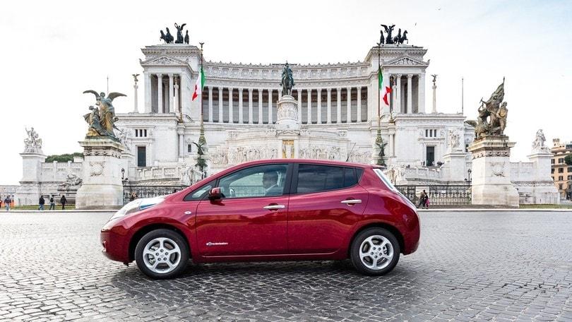 Nissan Leaf, tutta mia la città: la prova