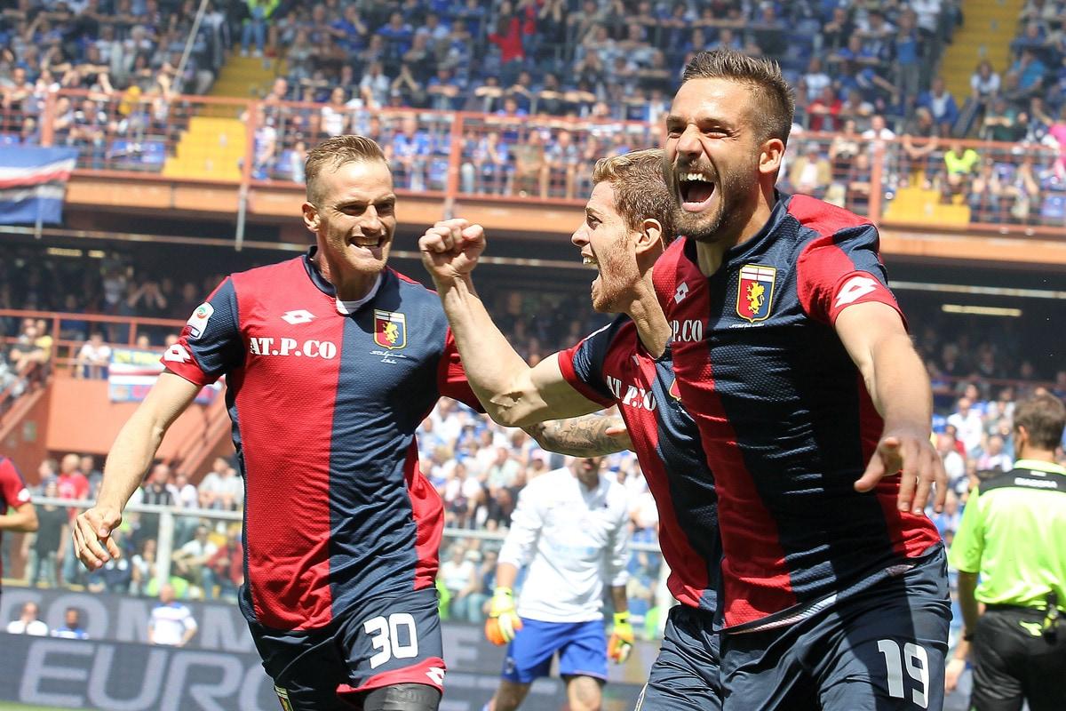 Serie A, Sampdoria-Genoa 0-3: il derby della Lanterna è tutto rossoblù