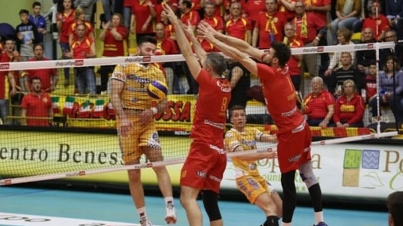 Volley: A2 Maschile, Sora la riapre, espugnata Vibo 3-0