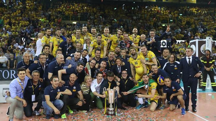 Modena campione d'Italia. Dopo 14 anni vince il 12° tricolore
