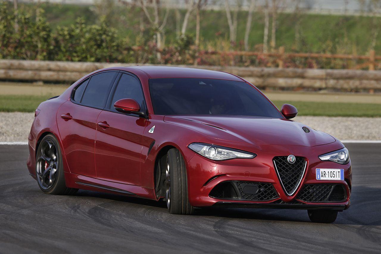 Alfa Romeo Giulia Quadrifoglio: prova su strada