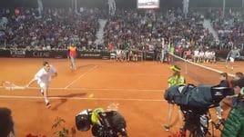 'Tennis with Stars', Totti scherza: