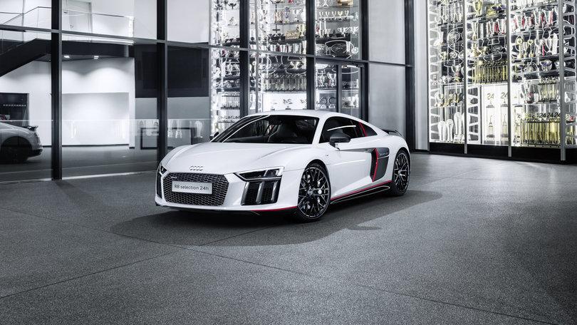 Audi R8 V10 Plus selection 24h, per pochi eletti