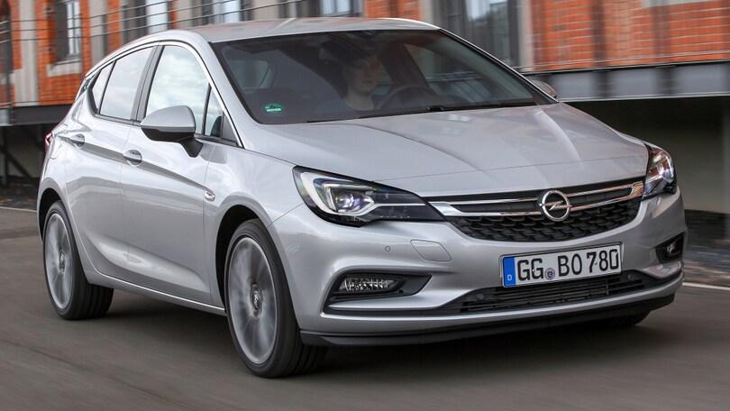 Opel Astra, arriva il 1.6 BiTurbo da 160 CV