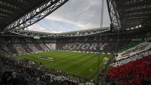 Juventus, lo Stadium è uno spettacolo per la festa