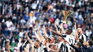 Juventus, grande festa per lo scudetto
