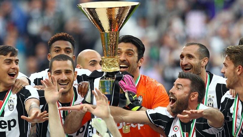 Serie A, Juventus-Sampdoria 5-0. Dybala show per la festa scudetto