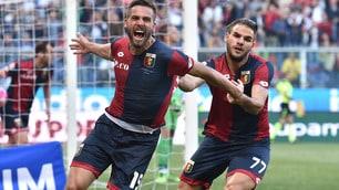 Genoa-Atalanta: le immagini più emozionanti della gara