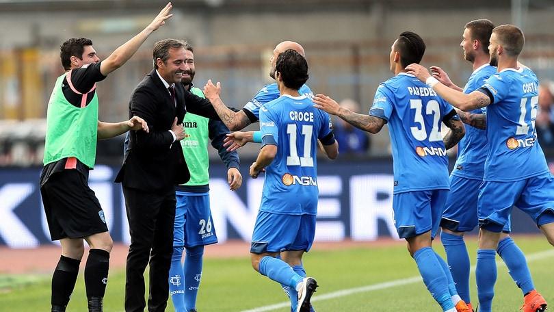 Serie A, 38ª giornata: Empoli-Torino 2-1, Genoa-Atalanta 1-2, Chievo-Bologna 0-0