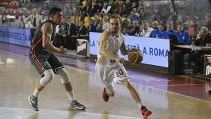 Basket A2, Roma vince, Treviso e Agrigento ko in casa