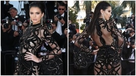 Kendall Jenner incanta a Cannes: che trasparenze!
