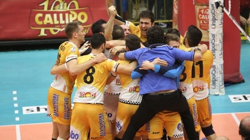 Volley: A2 Maschile, Sora può festeggiare la promozione in Superlega