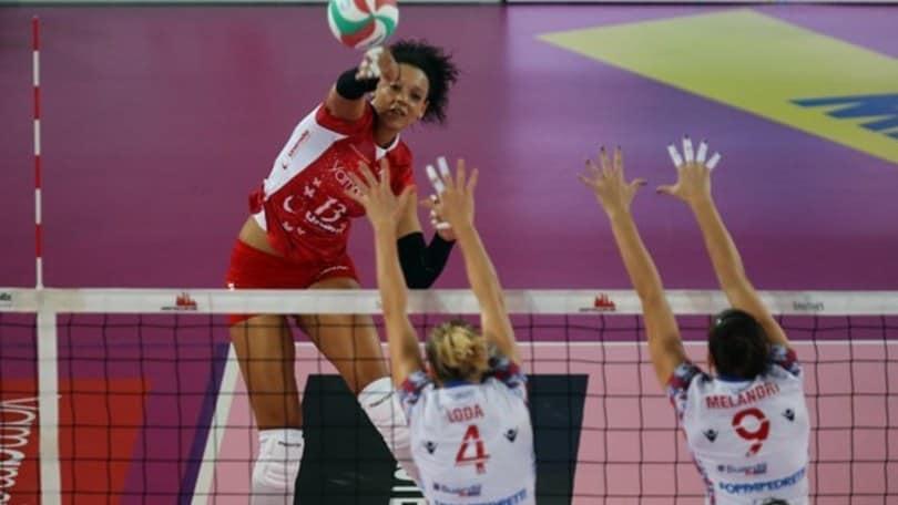 Volley: A1 Femminile,  a volte ritornano: Diouf alla UYBA