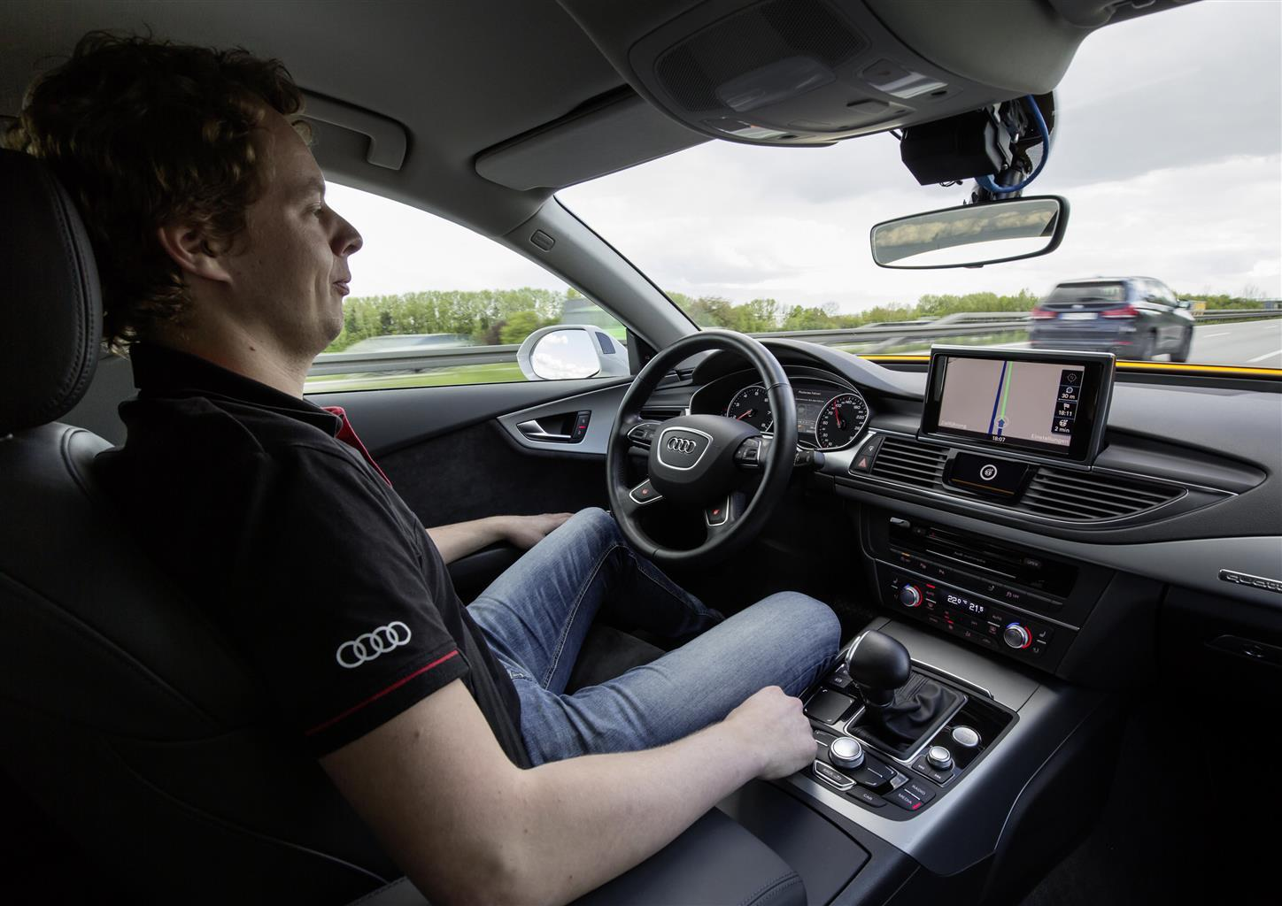 Audi A7 Piloted Driving Jack: foto