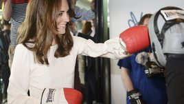 Kate Middleton indossa i guantoni da boxe
