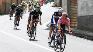 Giro d'Italia: Giulio Ciccone si aggiudica la 10ª tappa, Jungels in rosa