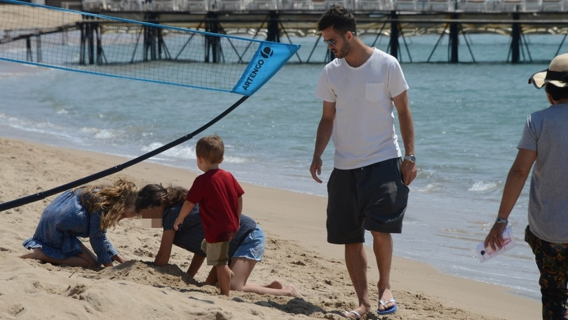 Miralem Pjanic in vacanza a Cannes