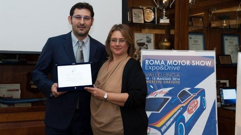 Andrea Del Campo di Ford Italia vince il Motor Award 2016