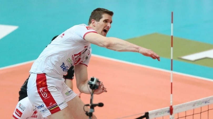 Volley: Superlega, Trento riabbraccia Jan Stokr