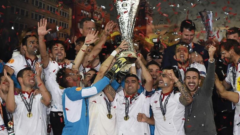 Europa League, Liverpool-Siviglia 1-3 in finale. Storico tris per gli spagnoli