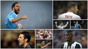Da Higuain a Buffon, da Totti a Pogba, ecco tutti i record della Serie A 2015/16