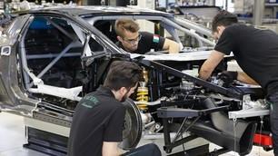 Lamborghini Huracan Super Trofeo: dietro le quinte